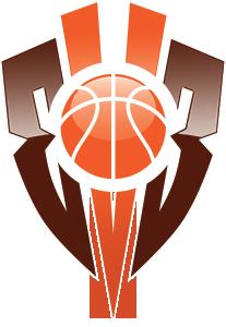3v3 basketball tournament logo