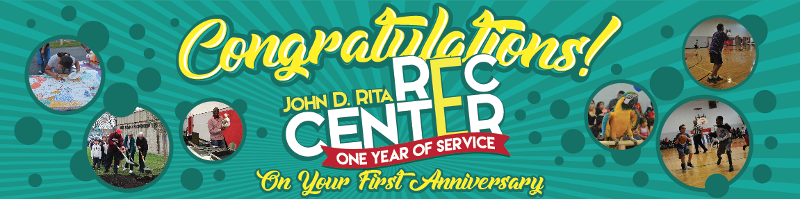 Blue Island Rec Center 1 year old Service