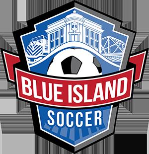 Blue Island Soccer logo