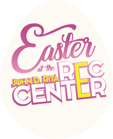 Easter at the Rec Center Logo