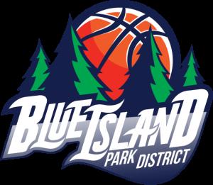 Blue Island Basketball team Logo