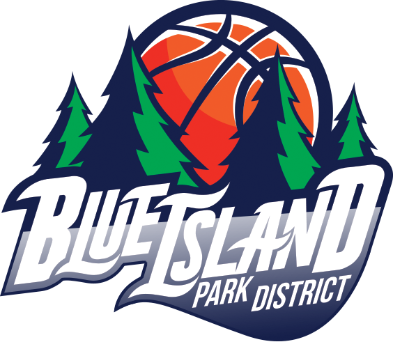 Blue Island Basketball team Logo