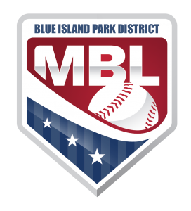 Men's Baseball League Logo