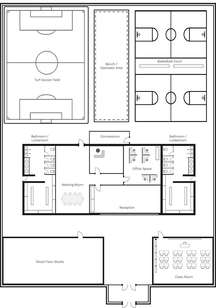 Proposed Recreation Center